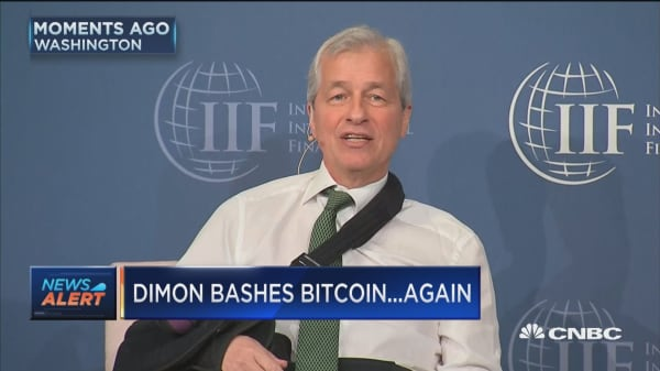 Jamie Dimon: I could care less about bitcoin