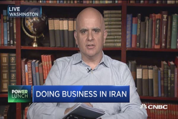 Chris Schroder: Doing business in the 'new' Iran