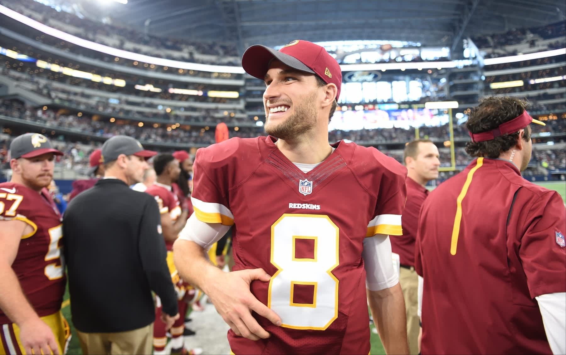 481c276ee Kirk Cousins could be the highest-paid QB with an  84 million contract