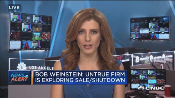 Bob Weinstein: Untrue firm is exploring sale or shutdown