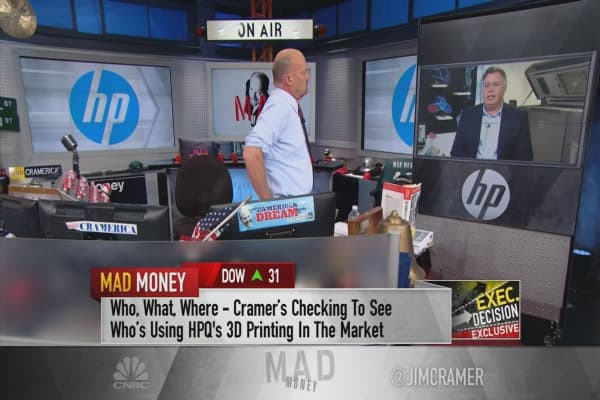 HP Inc. CEO: We got into 3-D printing to get ahead of the inevitable manufacturing disruption
