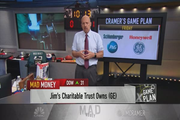 Cramer looks at pivotal earnings week