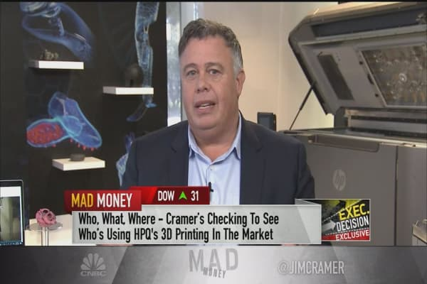 HP Inc. CEO: 3-D printing & the inevitable manufacturing disruption
