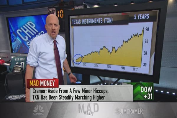 Cramer: If you want to own tech and sleep at night, buy Texas Instruments