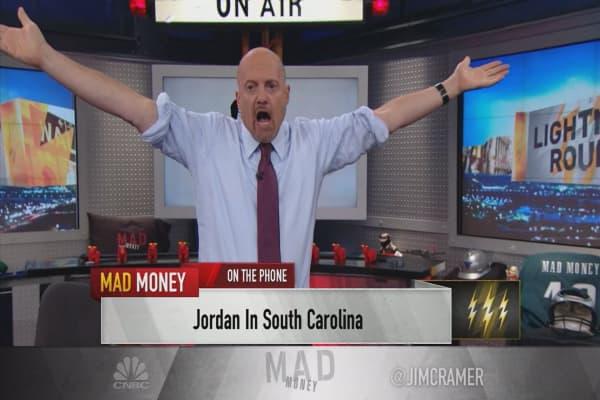 Cramer's lightning round: Why I'm behind the stock of Centene