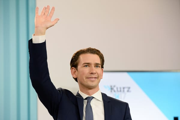 Sebastian Kurz, Austrian Foreign Minister and leader of the conservative Austrian Peo