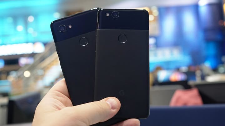 The Pixel 2 and Pixel 2 XL