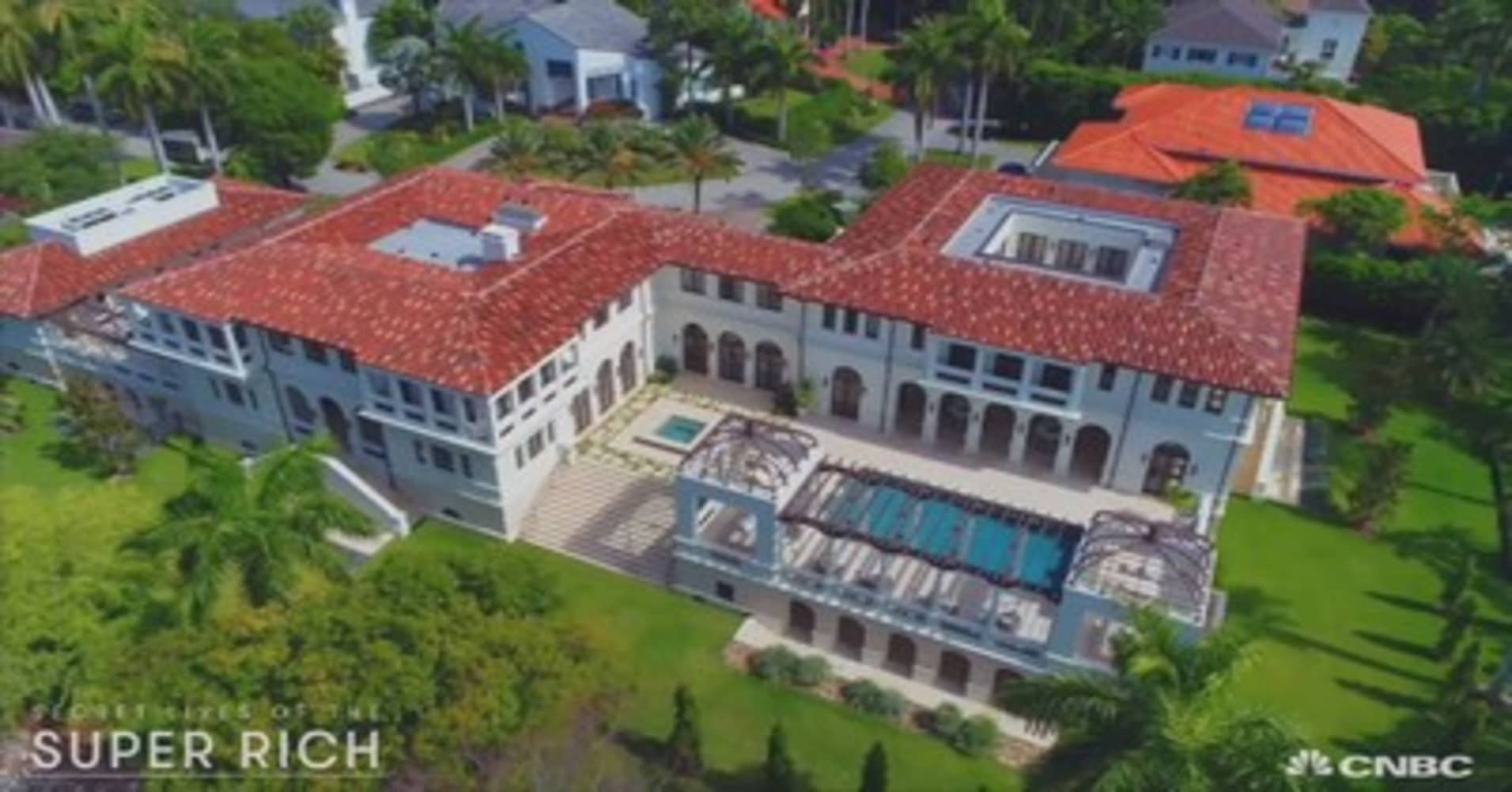 This $25 million Miami mansion is owned by a Bacardi heiress