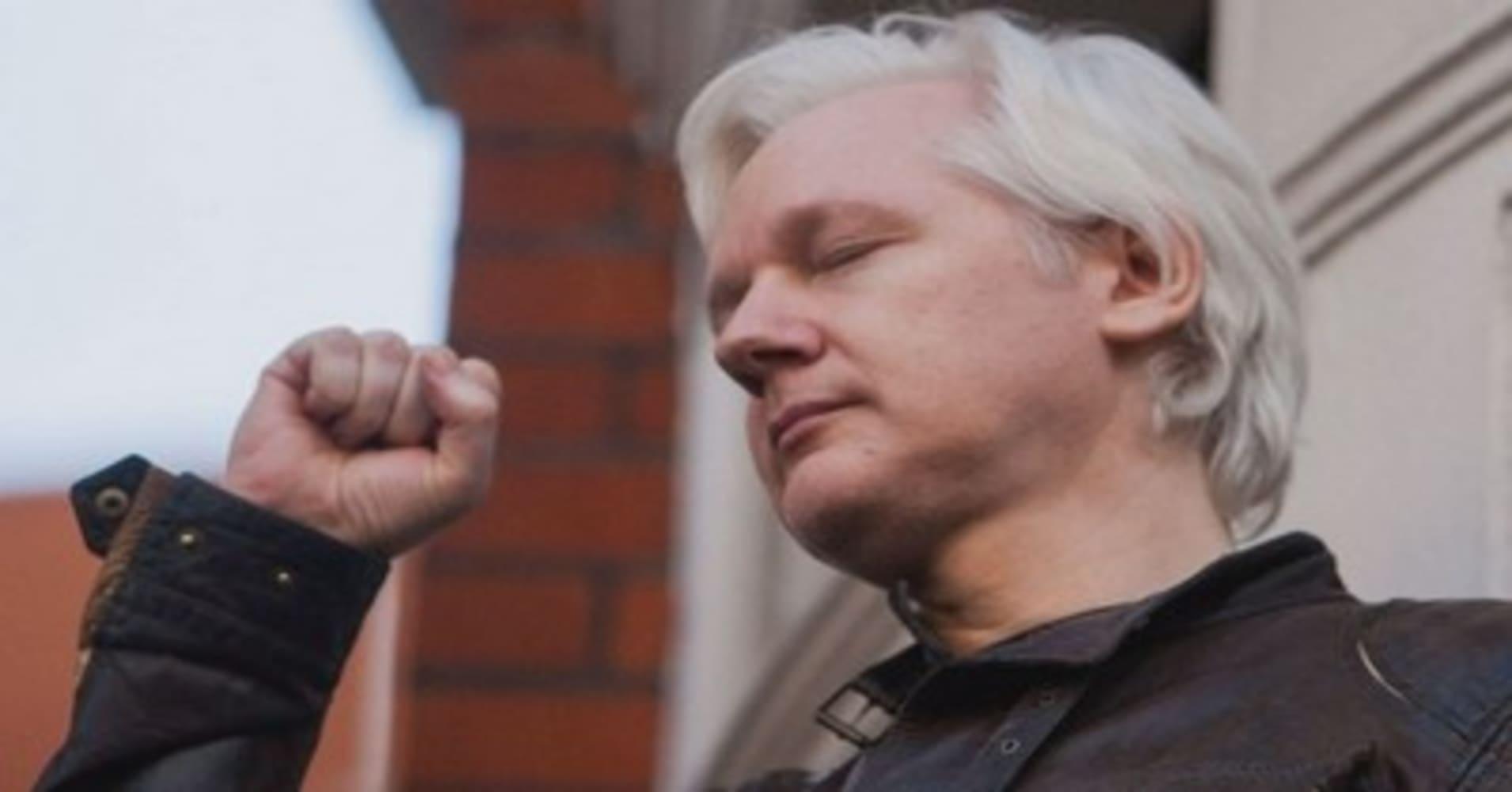 Výsledek obrázku pro assange