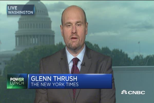 Glenn Thursh: Trump does not get involved in the beginning stages of legislation