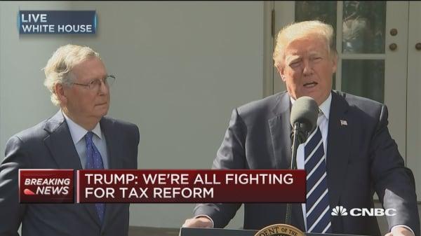 Trump: Democrats are good at obstruction