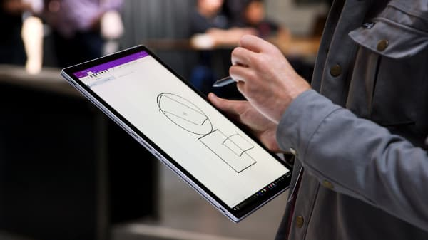 The tablet is once again detachable on the second generation of Microsoft's Surface Book laptop.