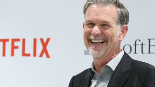 Netflix is slipping ahead of its earnings report (NFLX)