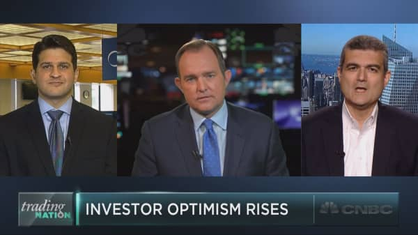 Is investor optimism a warning sign?