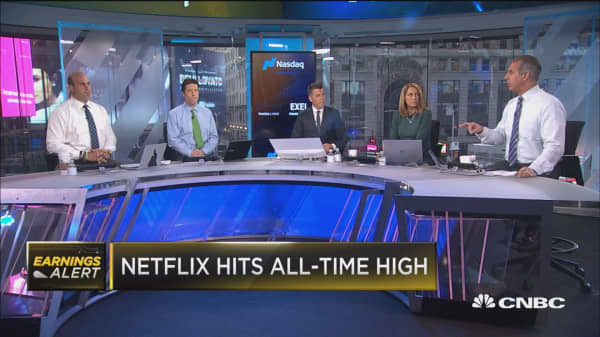 Netflix hits fresh all-time high after blowout earnings