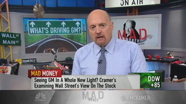 Cramer explains why General Motors' stock is back in style on Wall Street