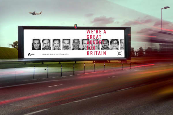 The UK's Advertising Association is running a campaign highlighting the diversity of people who work in the industry in the U.K.