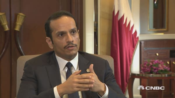 'We hope wisdom will prevail' on Qatar blockade, foreign minister says