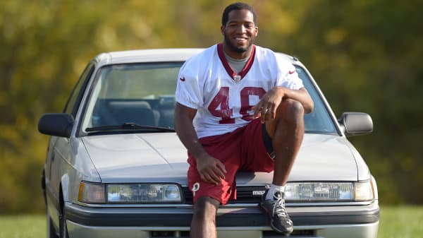 Check out the $2 car Dallas Cowboys running back Alfred Morris drives