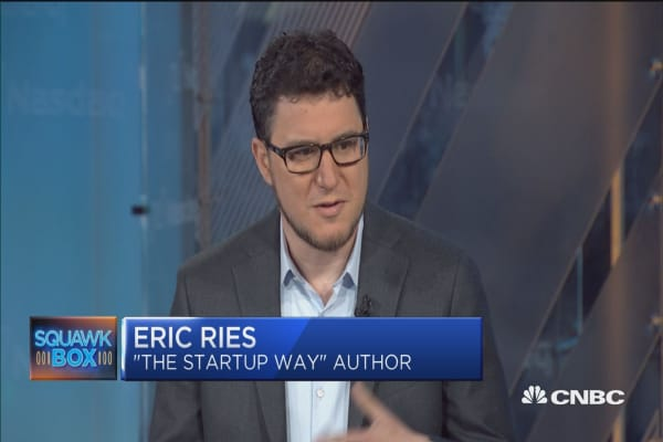 How companies can keep their 'start-up DNA': Eric Ries author