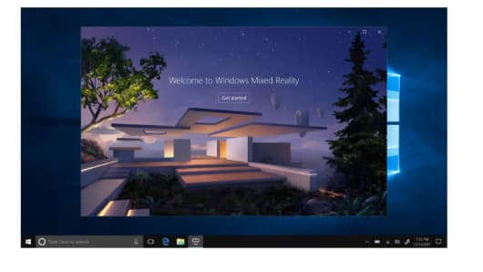 New Mixed Reality experiences are supported in the update.