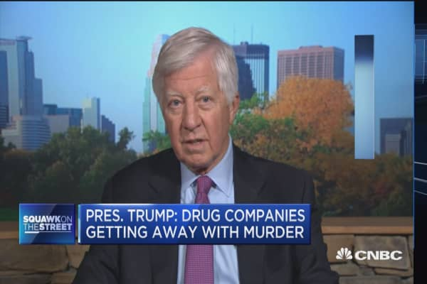 Bill George: Trump is right, drug prices are out of control