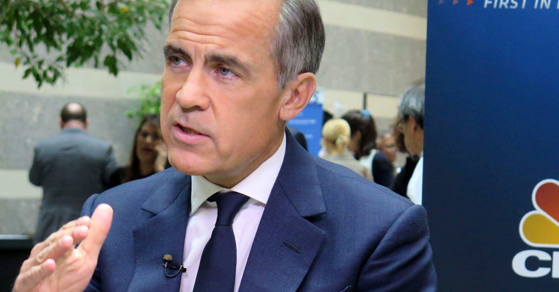 Watch Bank of England Governor Mark Carney speak live in New York