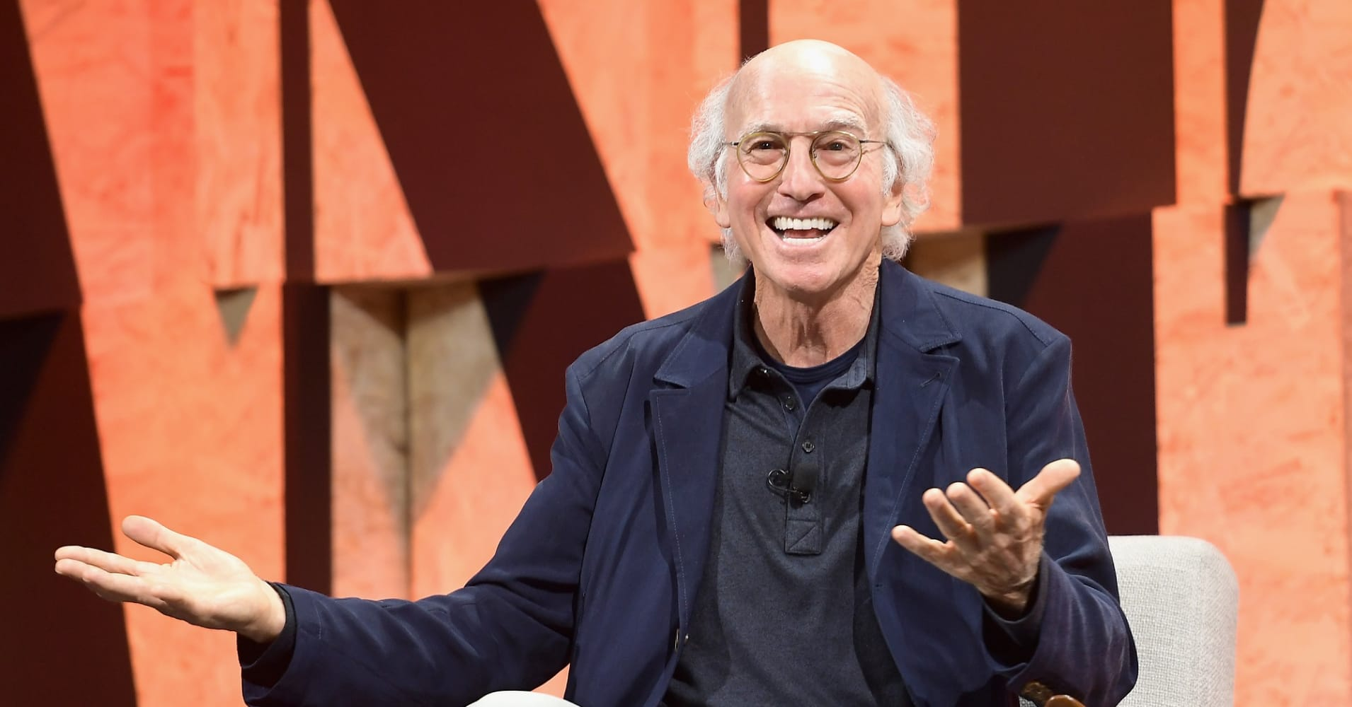 Larry David, the star of HBO's Curb Your Enthusiasm