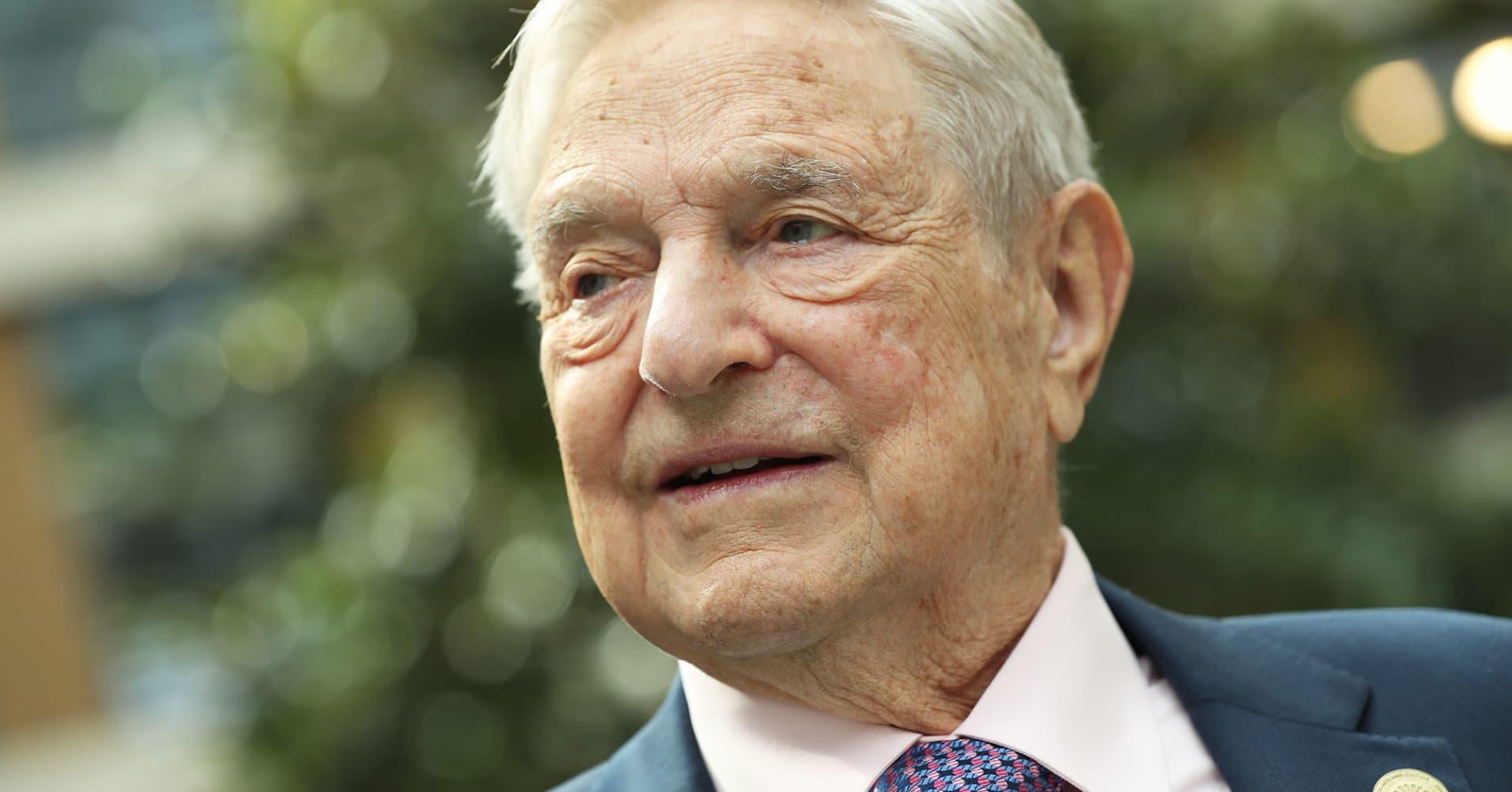 George Soros' fund bought $35 million of Tesla bonds while loading up on Amazon, Netflix stock