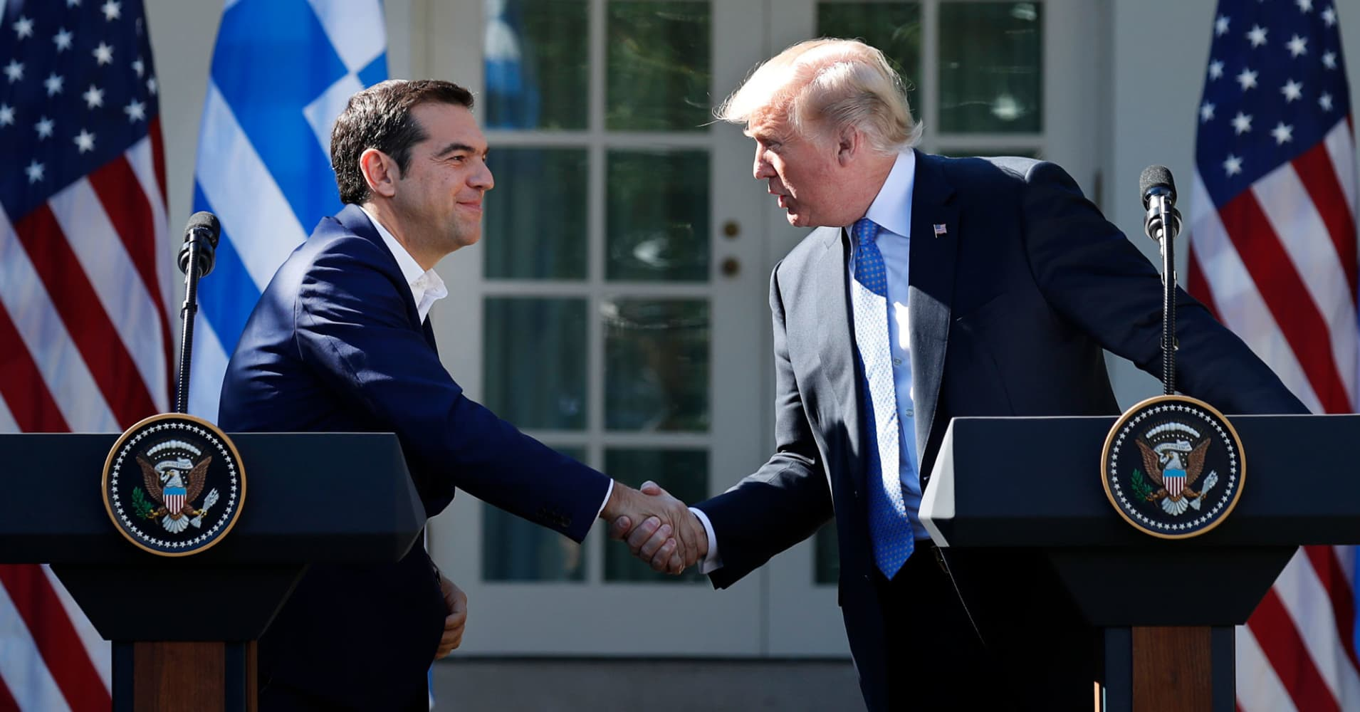 Trumps Message To Tsipras Us May Up Investment In Nato Ally Greece