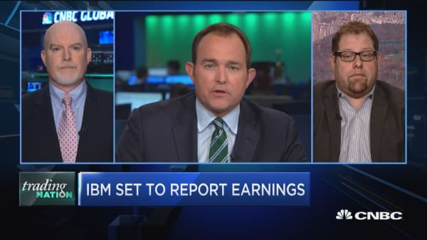Trading Nation: IBM set to report earnings
