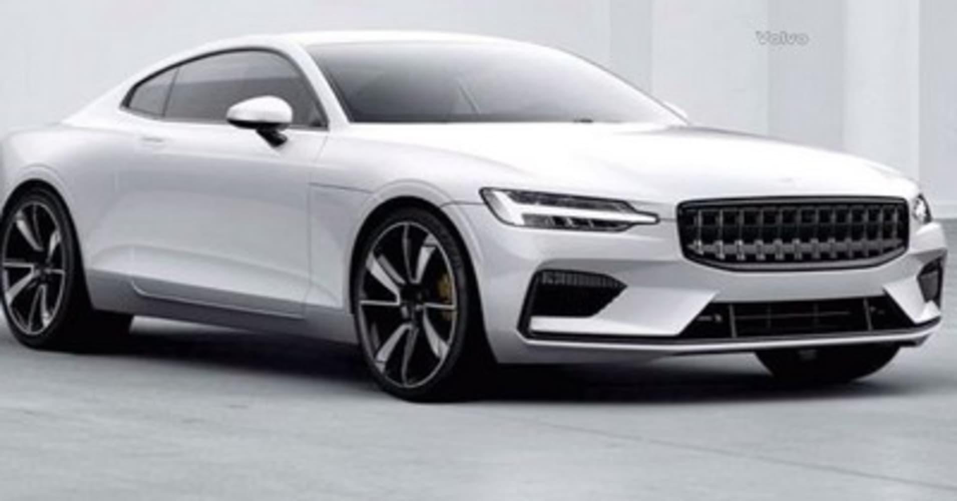 Volvo Unveils Polestar 1 Electric Sports Coupe, Its Bid To Take On Tesla