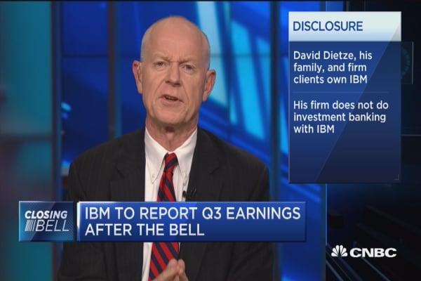 IBM's earnings won't grow for the next two years: Wedbush Securities' Ian Winer