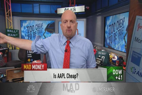 Cramer offers 5 cheap stocks