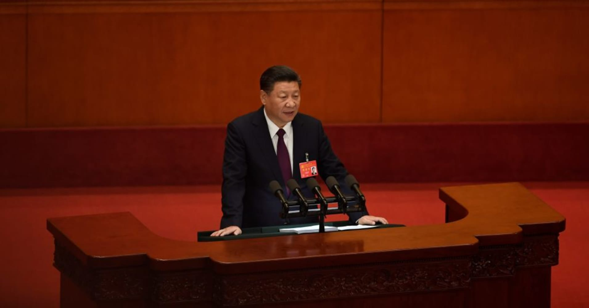 Chinese President Xi Jinping touts successes of 'socialism' at Communist Party Congress