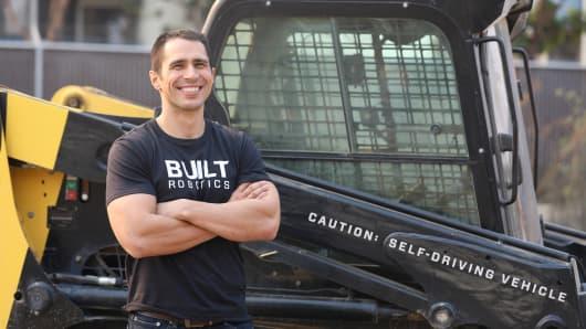 Built Robotics co-founder Noah Ready-Campbell.