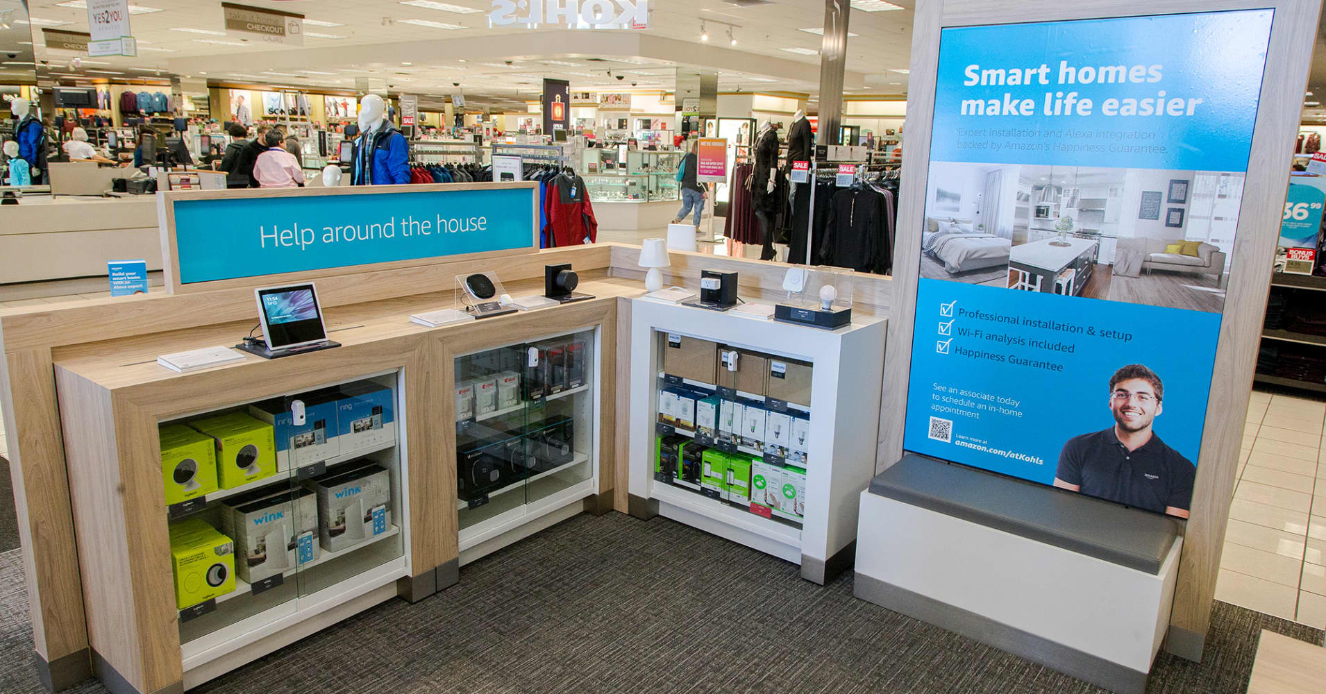 . Amazon returns at Kohl s stores launching today