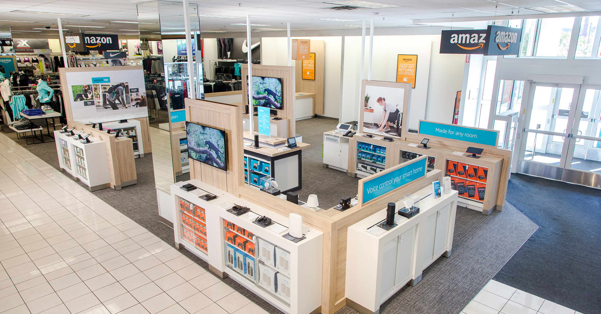The 'Amazon experience' goes live at Kohl's