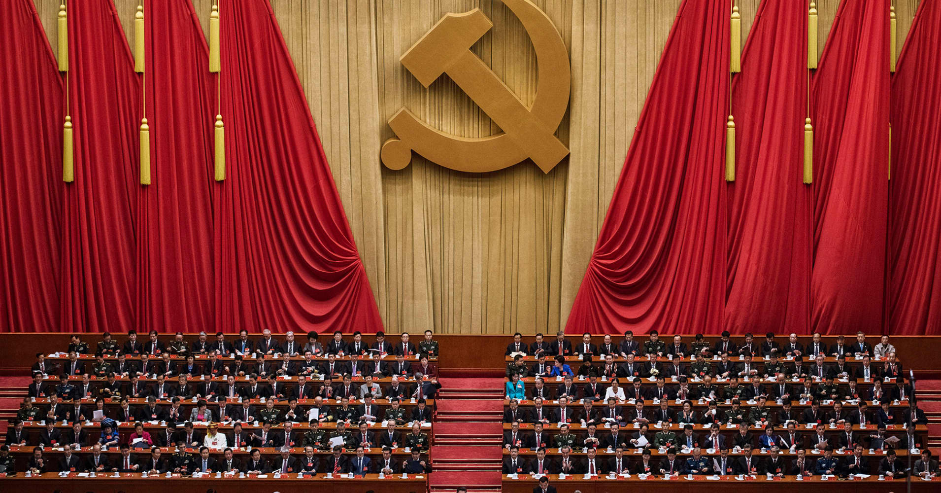 China's Communist Party enshrines Xi in constitution