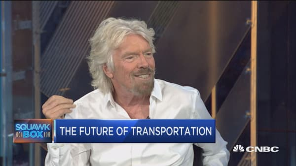Transporting people at 600mph or more on Hyperloop One is 'too exciting': Virgin Group's Richard Branson