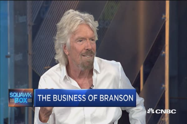 Sir Richard Branson: I've never been motivated by money