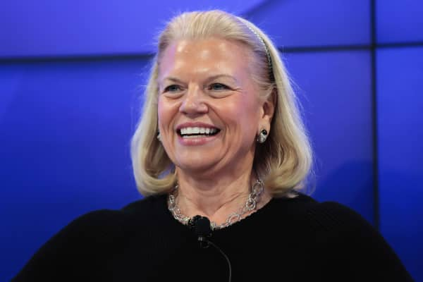 Virginia 'Ginni' Rometty, chief executive officer of International Business Machines