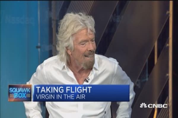 Branson on Virgin America sale: 'I don't normally take these things lying down'