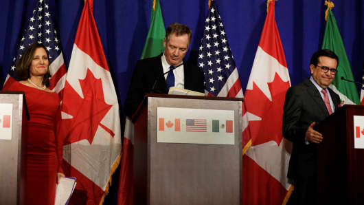 US, Mexico, Canada talk NAFTA changes