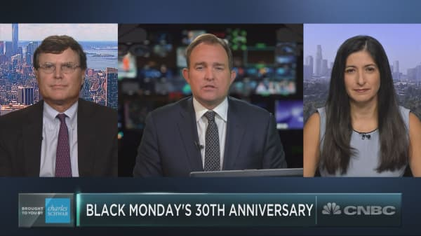 Black Monday anniversary: The market then and now