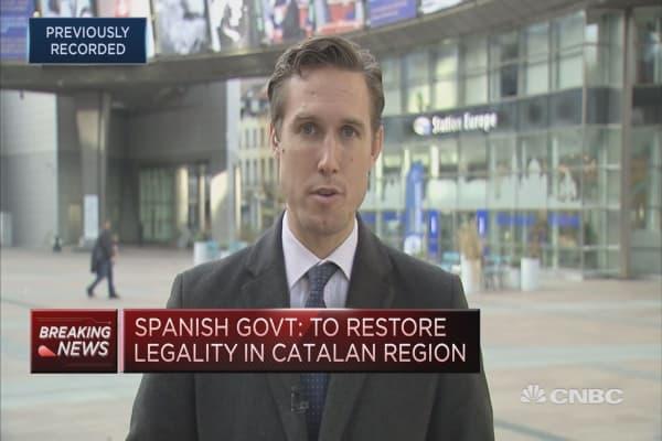 Catalan leader reiterates call for dialogue