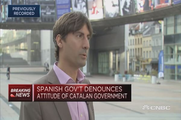 'Now it's time for politics,' Catalan politician says