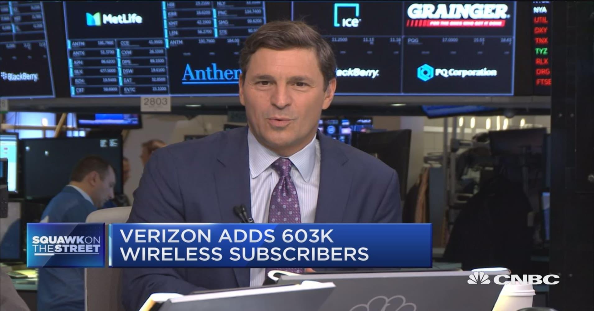 Verizon loses 18K FIOS video customers, adds 603K wireless subscribers
