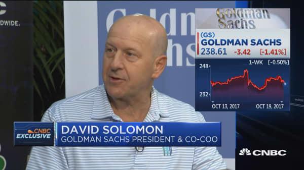 Goldman Sachs' David Solomon: We have an edge in debt capital markets business