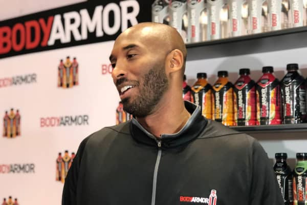Kobe Bryant at the 2017 NACS show in Chicago.